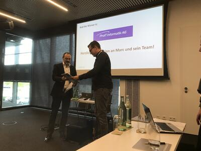 cobra-Partner of the year 2019 ProIT Informatik AG